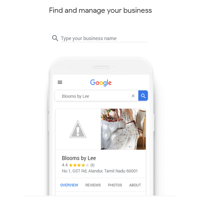 Google My Business Get Started