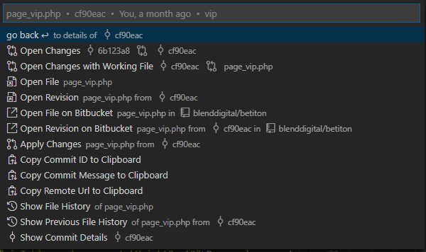 https://marketplace.visualstudio.com/items?itemName=pflannery.vscode-versionlens